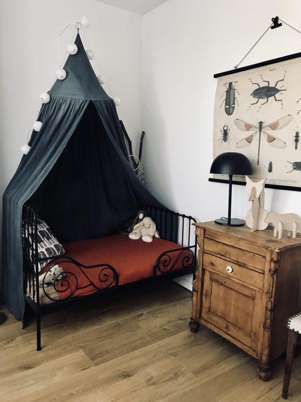 De vintage peuter kamer